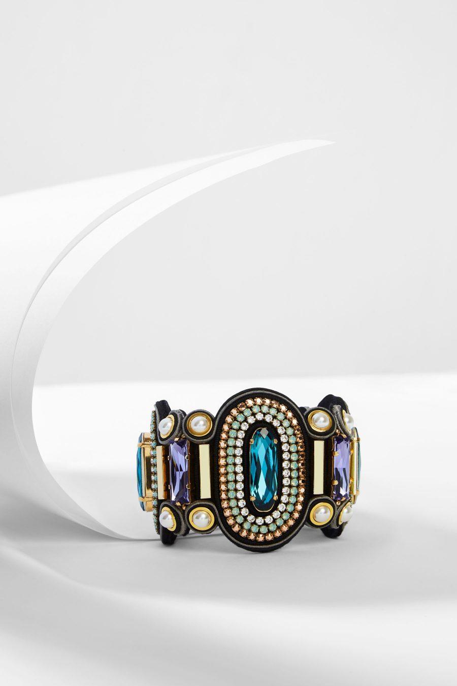 Blue Peacock Bracelet